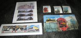 TRV14/16/17+32/35+36/38+42/47, Koninklijke Treinen, Stoomtijdperk,  Etc....(zonder Mapjes Of Envelopjes) 2 Scans! - 1952-....