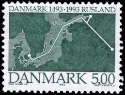 Denmark 1993 Denmark-Russia Submarine Treaty Unmounted Mint. - Nuevos