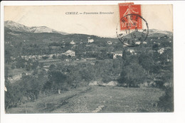 Carte De CIMIEZ Panorama De Brancolar ( Peu Courante ) ( Recto Verso ) Environs De NICE - Sonstige Gemeinden