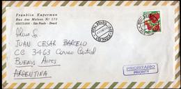 Brasil - 2000 - Lettre - Air Mail - Envoyé En Buenos Aires, Argentina - A1RR2 - Lettres & Documents
