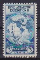 STATI UNITI D'AMERICA 1933 SPEDIZIONE ANTARTICA DI R.E.BYRD UNIF. 536 MNH SENZA GOMMA VF - Ungebraucht