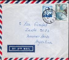 Belgique - 1974 - Lettre - By Air Mail - Envoyé En Argentina - A1RR2 - Cartas