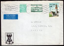 Finland - 1978 - Letter - Par Avion - Envoyé En Canada - A1RR2 - Lettres & Documents