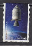 #26, Canada, Espace, Space, Apollo 11 - Oblitérés