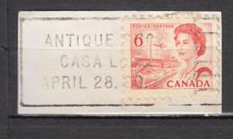 #26, Canada, Élizabeth II, Cachet, Postmark, Antique Shop, Casa Loma, Train, Avion, Plane, Bateau, Boat - Oblitérés