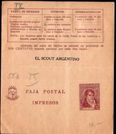 Argentina - Circa 1940 - Bande Postale - Manuel Belgrano - 1/2 Ctv - A1RR2 - Ohne Zuordnung