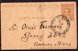 Argentina - 1944 - Faja Postal - Bande Postale - Mariano Moreno - 5 Ctv - A1RR2 - Briefe U. Dokumente
