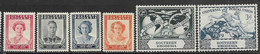Southern Rhodesia  1947-50  Sc#67-72  Sets  MH  2016 Scott Value $3.35 - Südrhodesien (...-1964)