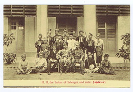 A362) H.H. The Sultan Of Selangor And Suite Malaysia Ed. G. R. Lambert & Co. - Malaysia