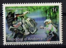 Spanish Andorra  2015. Motorcross. Sports. Motorbikes. MNH** - Sin Clasificación