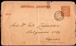 Argentina - 1898 - Impresos  - 1/2 Ctv - A1RR2 - Ohne Zuordnung