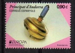 Spanish Andorra  2015. Europa - CEPT. Old Toys.  MNH** - Sin Clasificación