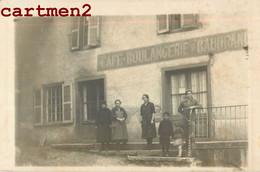 "CARTE PHOTO : DEVANTURE A LOCALISER "" CAFE BOULANGERIE BAUDRANI ? "" - Cafes"
