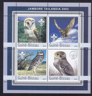 Guinea-Bissau 2003  Owl MNH 1 Sheet - Guinea-Bissau