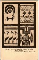 6EG 450 CPA - ART ELAMITE. DECORS DE VASE - STYLE SUSIEN - EDITEUR F. NATHAN - Antiek