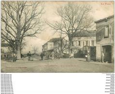 81 PUYLAURENS. Avenue De Saint-Paul Avec Roulotte Et Magasin De Papier D'Arménie 1905 - Puylaurens