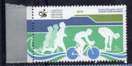 United Arab Emirates 2013.  Sports. Abu Dhabi International Triathlon.  MNH - Emiratos Árabes Unidos