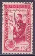 Monaco 1950 Y&T N°342 - Michel N°414 (o) - 15f Prince Rainier III - Gebraucht