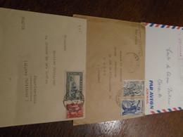 SUPERBE 5 Lettres Des COLONIES ( SENEGAL -MAROC - CAMEROUN)  ++5 Photos Recto/Verso - 1941-42 Pétain