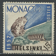 Monaco 1953 Y&T N°391 - Michel N°463 (o) - 15f Stade Louis II - Gebraucht