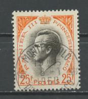 Monaco 1959 Y&T N°504 - Michel N°622 (o) - 25f Prince  Rainier III - Gebraucht