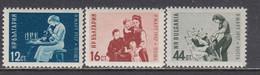 Bulgaria 1957 - Women's Day, Mi-Nr. 1016/18, MNH** - Unused Stamps