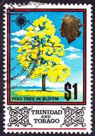 TRINIDAD & TOBAGO 1969 QEII $1 Multicoloured SG352 FU - Trinidad & Tobago (...-1961)