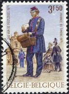 Belgique Poste Obl Yv:1577 Mi:1631 Journée Du Timbre Facteur à Pied (cachet Rond) - Usados