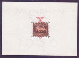 Deutsches Reich 1937 Block 10 Postfrisch - Michel 180,00 € (082) - Blokken