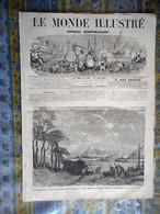 LE MONDE ILLUSTRE 17/08/1867 AUTRICHE SALZBOURG EXPOSITION UNIVERSELLE MARINE PARIS TROCADERO TURQUIE CAFE TURC GENEVE M - 1850 - 1899
