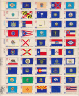 C010 - ETATS UNIS UNITED STATES Yv N°1081/130 ** DRAPEAUS FLAGS  ( Registered Shipment Only ) - Neufs