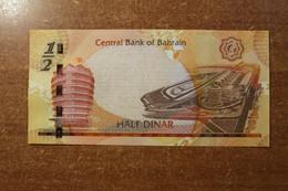 Bahrain 1/2 Dinar UNC RK - Bahrain