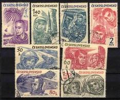 Tchécoslovaquie 1964 Mi 1463-70 (Yv 1331-8), Obliteré - Used Stamps