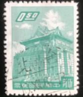 Taiwan - T1/4 - (°)used - 1959 - Michel 323 - Chu Kwang Toren Van Quemoy - Gebraucht