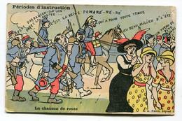 CPA  Militaria :   Humour   Chanson De Route Pour Famille Marguet Guyard à Marigny Nièvre     VOIR   DESCRIPTIF  §§§ - Humor
