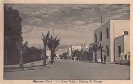 Libya - MISRATA Misurata Citta - Via Conte Volpi E Caserna R. Finanza - Libia