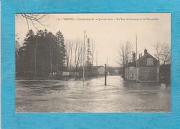 Troyes ( Aube ). - Les Inondations, 22, Janvier 1910. - La Rue De Gournay Et Les Charmilles. - Troyes