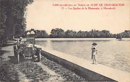 MAROC - 9,000 Kilomètres Au Maroc En 1O HP DE DION-BOUTON - Les Jardins De La Mamounia à Marrakech - Ed. Inconnu - Zonder Classificatie