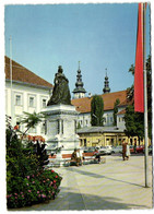 Klagenfurt - Neuer Platz Mit Denkmal Kaiserin Maria Theresia - Klagenfurt