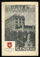 Genova Hôtel Bellevue Schweizerhaus 50 Metri Della Stazione Salita Visitazione Maroncelli - Genova (Genoa)