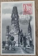 1953  Maxinumkarte Gedächtniskirche - Cartas