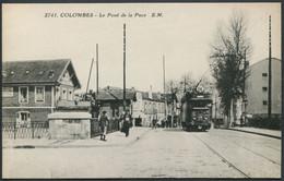 Colombes - Le Pont De La Puce - Tramway Ligne 64 - N° 2741 EM - F. Testard Photo-Edit. - Voir 2 Scans - Colombes