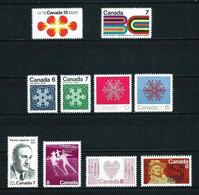 Canadá Nº 462-464-465/8-469-478-479-480 Nuevo - Neufs