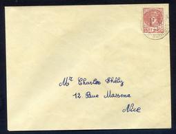 LIBERATION /// NICE ( CHARLES DE GAULLE SUR LETTRE) Rarissime - Lettres & Documents