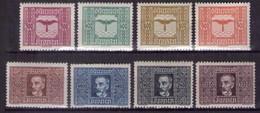 Österreich 1922 Mi.-Nr. 425 - 432 Postfrisch ** Kpl. Satz (A25-072) - Nuevos
