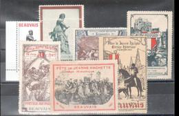 7 Vignettes Sur Les Fetes De Jeanne Hachette, Beauvais - Other