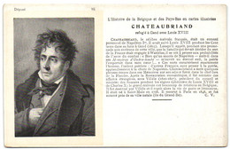 Chateaubriand - Refugié à Gand Avec Louis XVIII - Historische Figuren