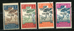 WALLIS ET FUTUNA : T TAXE N° Yvert 11+12+13+14 Obli; - Postage Due