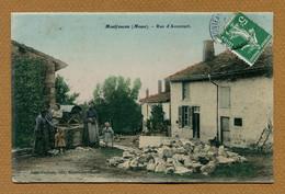 "MONTFAUCON  (55) : "" RUE D'AVOCOURT "" - Other Municipalities"