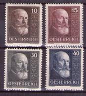 Österreich 1928 Mi.-Nr. 494 - 497 Postfrisch ** Kpl. Satz (Mi.60€) (A25-076) - Nuevos